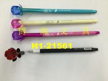 Neutral pen and pen shape pen Rose model neutral pen
