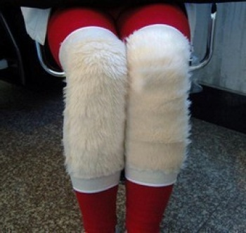 Wool knee arthritis 1 sportswear indoor warm fluffy insulation pads