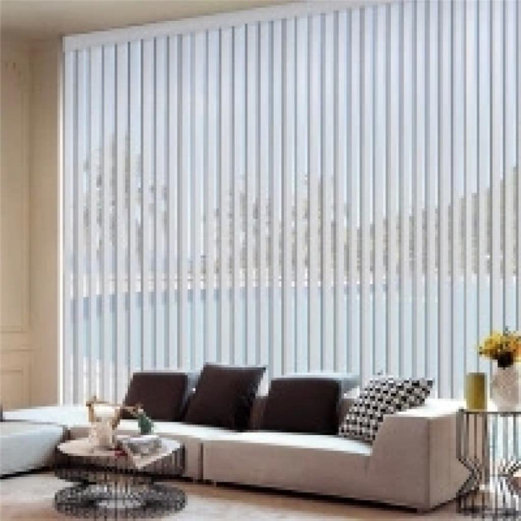 pvc垂直帘 办公室窗帘 落地窗 铝合金 轨道竖