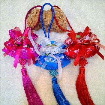 Chinese knots ' sachet ' mosquito ' odor ' crafts ' diverse styles.