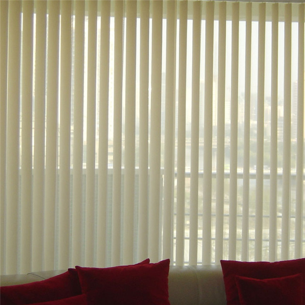 Supply Plastic partition curtains blackout vertical blinds Blinds