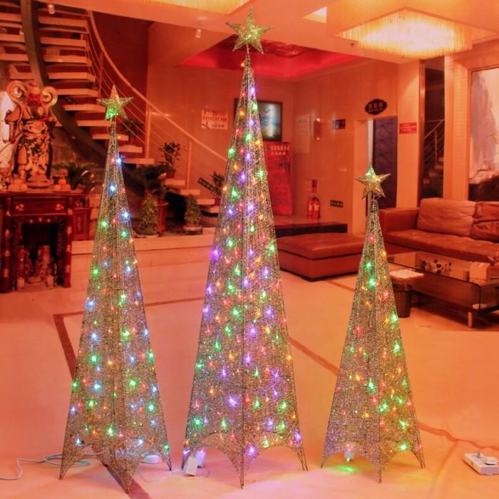 圣诞装饰品场景布置装扮铁艺圣诞树塔