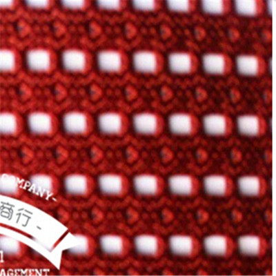 Multiple colors polyester material, hard hole