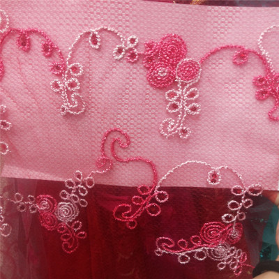 A variety of colors, gauze, sequined, embroidered Voile