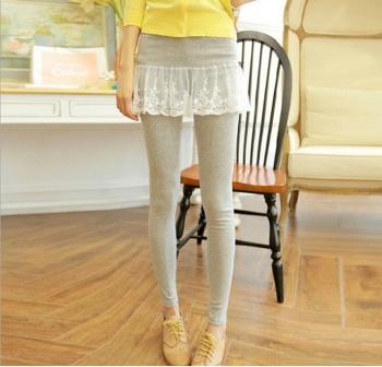 Culottes de encaje fino Corea falsa dos pequeños uno culottes leggings