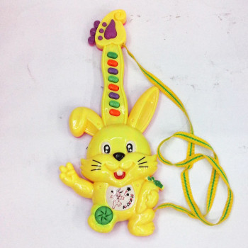 In children's toys rabbit electronic guitar, electric toys