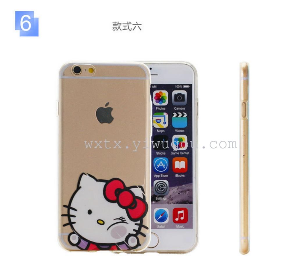 卡通手机壳 公仔个性苹果iphone6,三星等手机套.