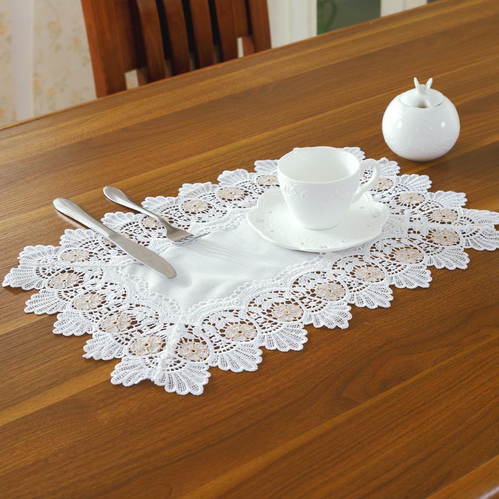【后浪工艺品】欧式高档贡缎绣花餐垫餐巾桌布桌旗茶几布台布