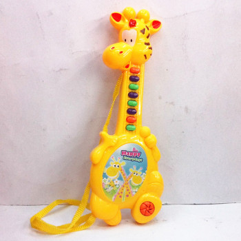 Children's toys, plastic bags of giraffe electronic guitar, electric toys