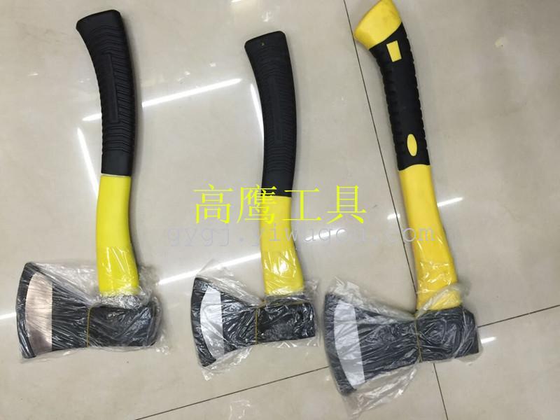 木材プラスチックバッグ斧斧斧斧斧繊維板の木を燃やす火武器