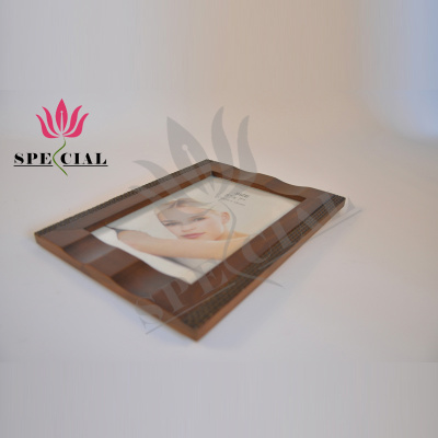 Wooden photo frames placed boutique creative photo sets of high-grade pure wood ornaments