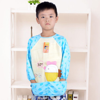 Run Tong chicken baby clothes and eating patterns overclothes caftans baby play painting overclothes