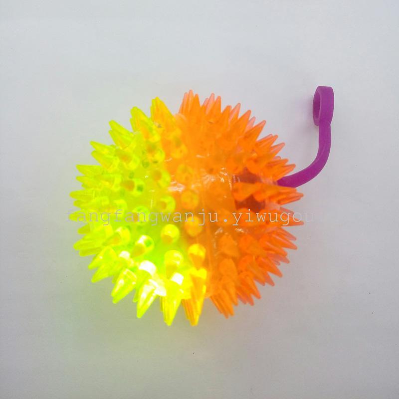 工場直接販売デュアルカラーマッサージボールをバウンスボールハリネズミストール7