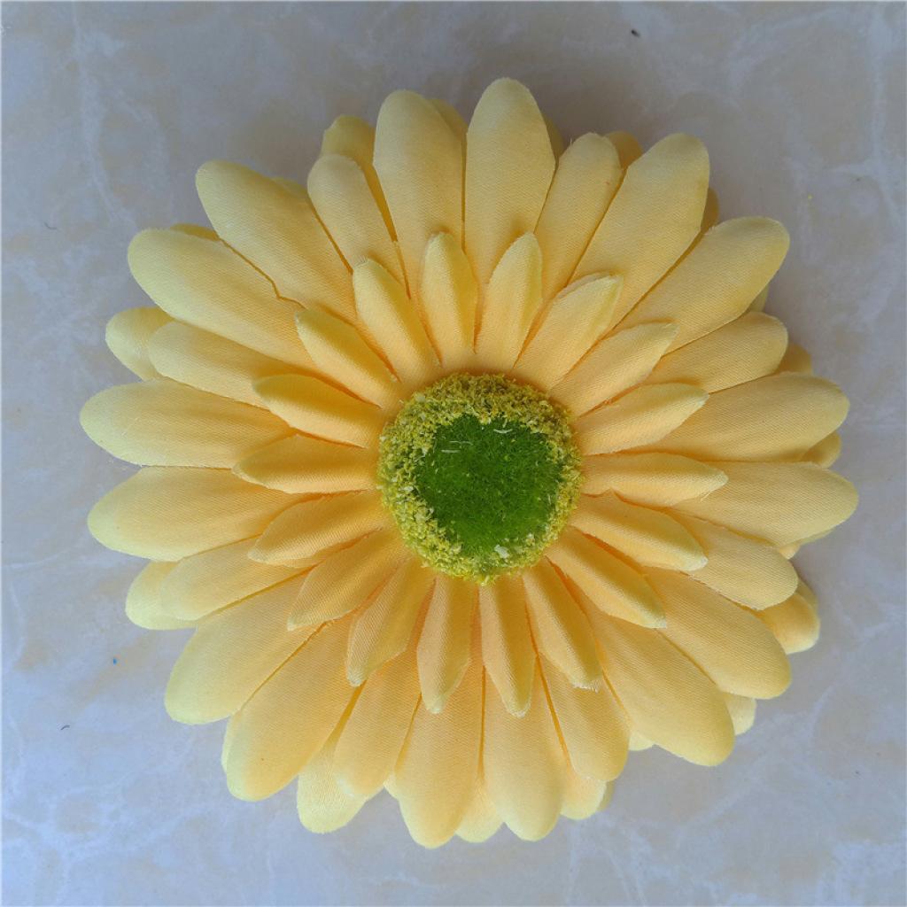 韩国新款 小清新雏菊菊花发夹边夹 可爱花朵一字夹发饰