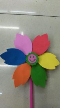 Children's puzzle big windmill, EVA production