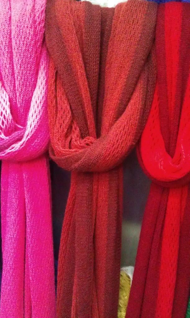 本公司加工水貂尾编织围巾