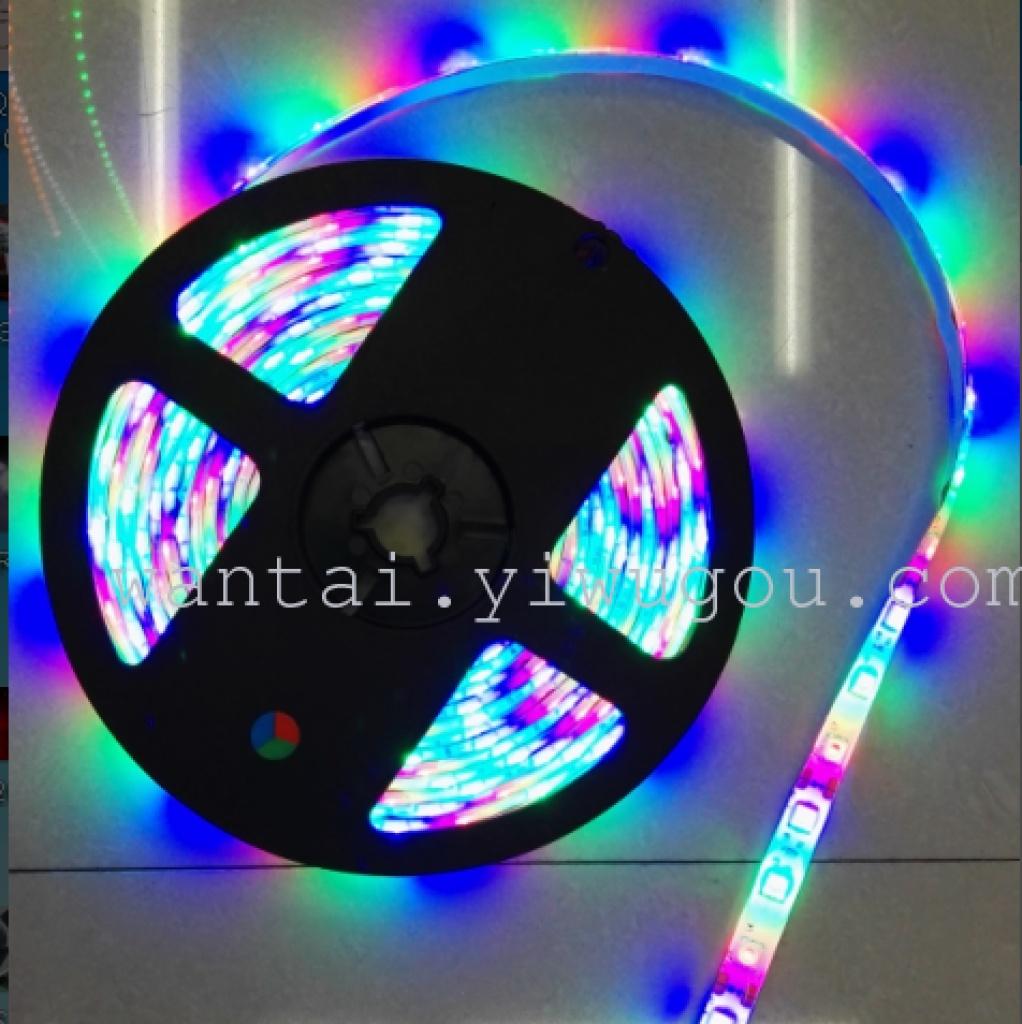 led 5m rgb 遥控 彩色 七彩 灯带