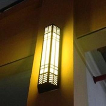 新品仿云石壁灯 酒店别墅墙壁迎宾灯欧式客厅壁灯