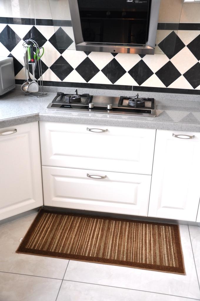 カモフラージュマットマットマットストリップキッチンバルコニー高吸油ほこりの203のドアマット