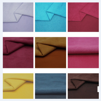 Encryption of warp knitted suede fabric shoe bags jewelry fabric East Purple Leather Co. Ltd.