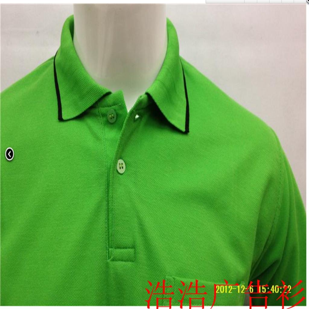 ポケット・襟綿tシャツ、プロモーションの衣類