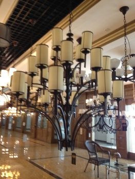 欧式蒂凡尼彩色玻璃餐厅吊灯卧室吊灯客厅吊灯