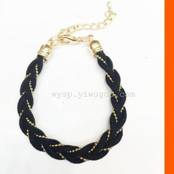 Han Guorong bead chain Braided Bracelet
