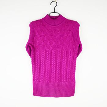 2017 new winter women's high-grade wool sweater mercerized cotton thick sweater