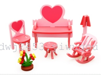 Kimaru Ko 3D model of assembly of home children Tong Yizhi toys