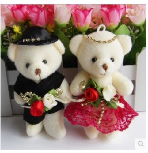 Plush Toy Valentine gift jewelry wedding gift bag cost accessories for garment auxiliary