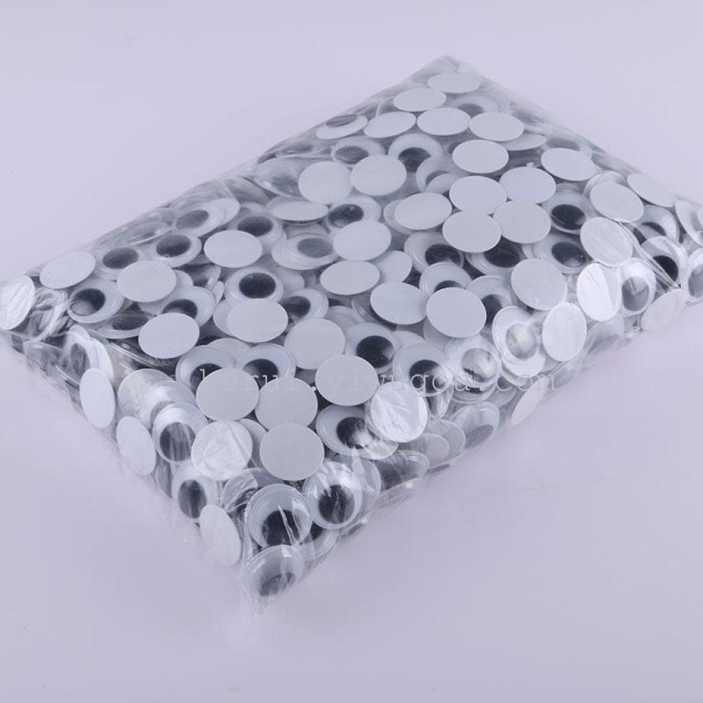 22mm毛绒动物塑料假眼睛 diy手工制作材料