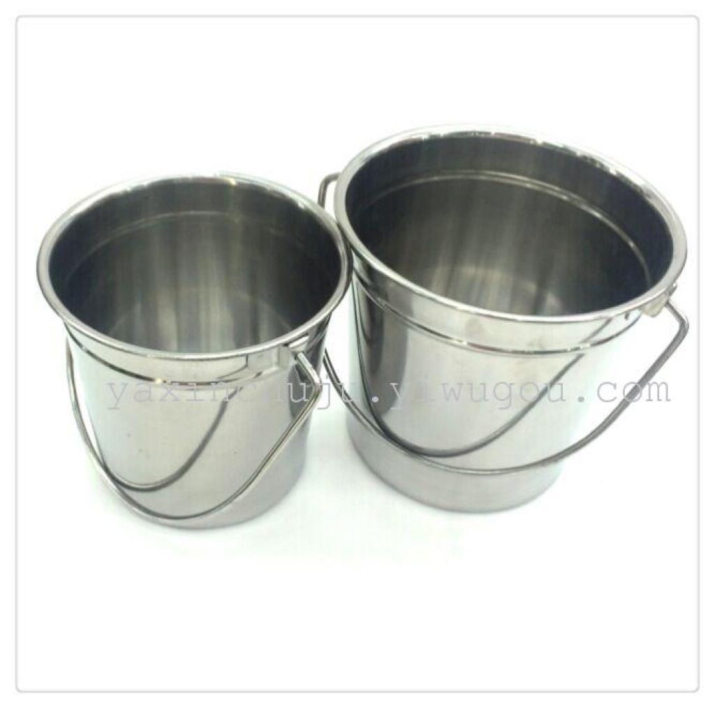 水桶 小提手不锈钢香槟桶