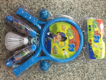 Skipping and racket sports toys Combo