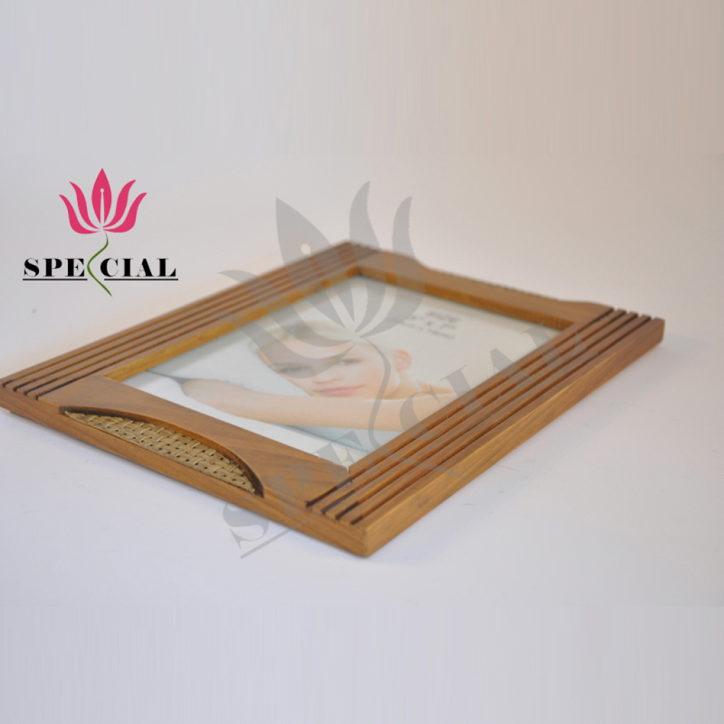 Supply factory wholesale direct selling exquisite wooden for Craft picture frames bulk