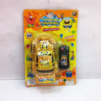 Board installed cable remote control sponge baby car racing, puzzle toys