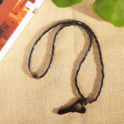 A round hole necklace jewelry anklets bracelets K142