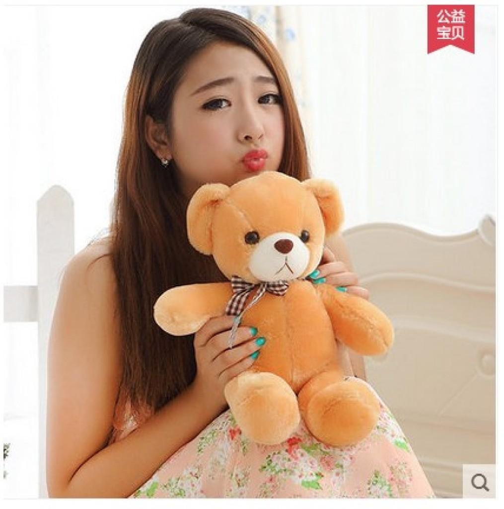 可爱小熊熊布娃娃毛绒公仔玩具泰迪_慧怡毛绒玩具商行
