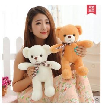 可爱小熊熊布娃娃毛绒公仔玩具泰迪