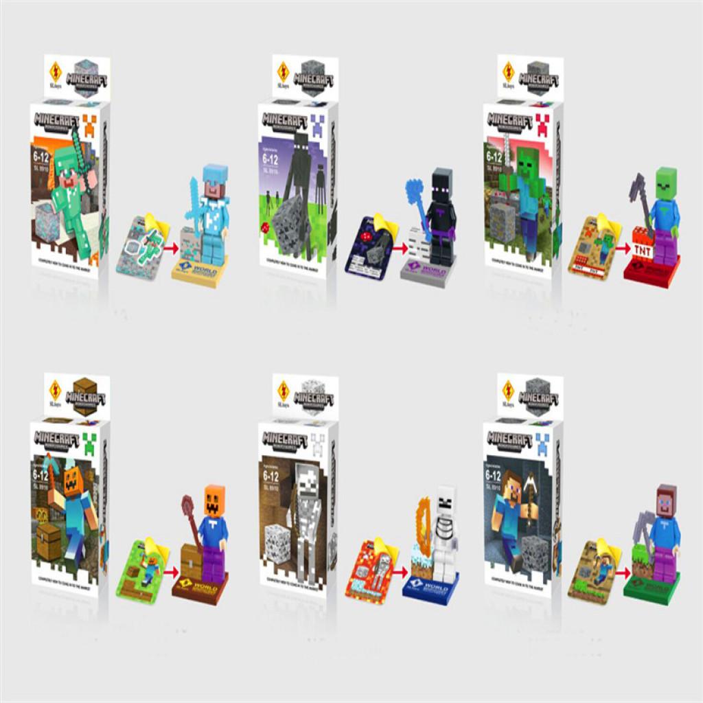 Supply 2015 Explosion Models Building Blocks My World Minecraft Assembling Block Toy