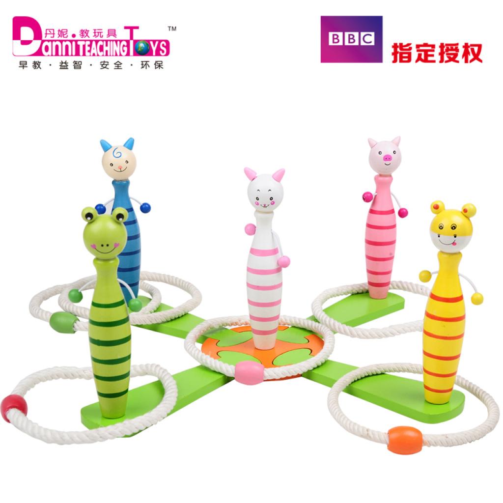 Treasure Toys Cartoon : Supply wooden toys treasure cartoon set of circle game and