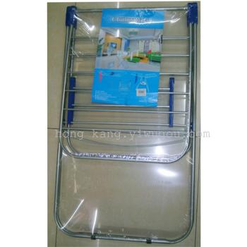 Airfoil ground folding butterfly clothes hanger frame for baby diapers home balcony airer