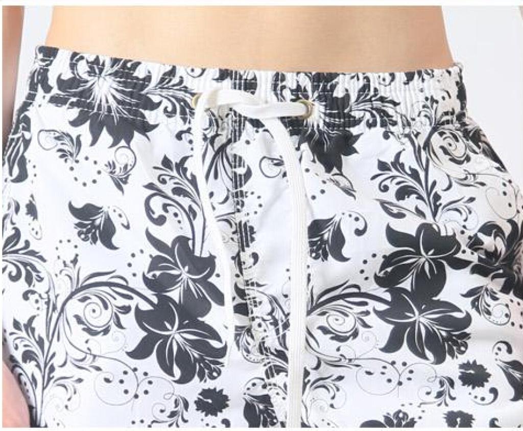 2014款男士花纹印花沙滩裤 沙滩裤外贸 韩版沙滩裤 09