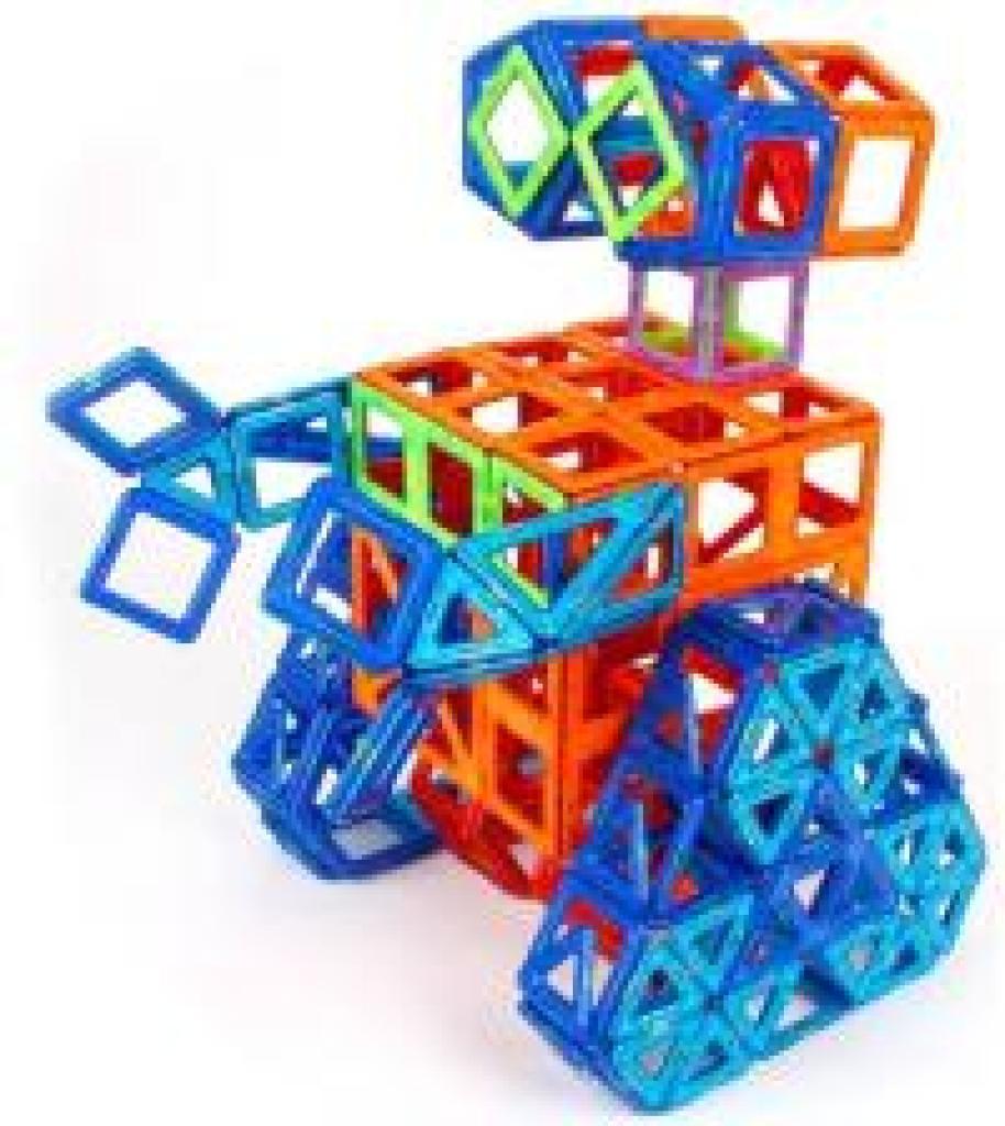 磁力片积木 提拉拼图玩具