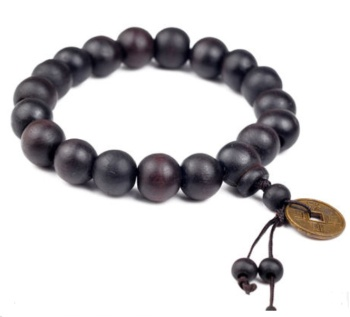 Lucky spade coins beads bracelets bracelet bracelet Jewelry mahogany coins and wholesale
