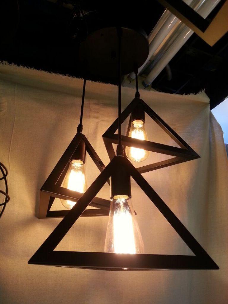 房顶吊灯透视图手绘