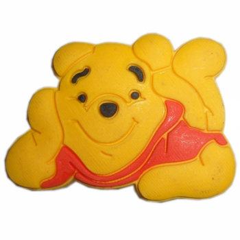 可爱动物小狗熊形象动漫卡通软胶拉手儿童橱柜五金配件图片