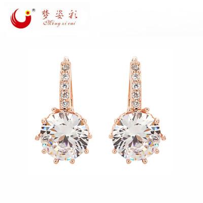 2015 Korean high-grade personality Earrings long female diamond earrings earrings allergy