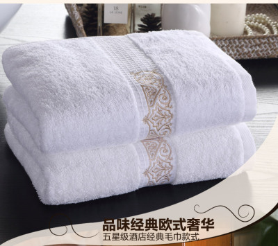 Where the luxury hotel bedding hotel Bo gold satin towel towel