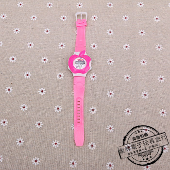 Cute cartoon Apple student gift toys electronic children watches