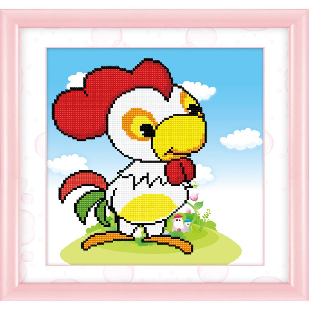 儿童卡通十二生肖鸡